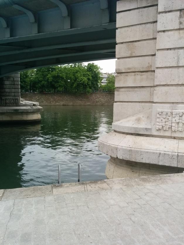 On a même croisé la session Bridge Run de l'autre côté ;)
